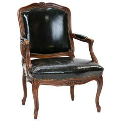 19th Century Louis XV Cabriolet Armchair