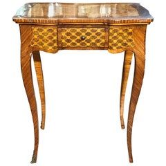 19th Century Louis XV France Rosewood Table,1870s