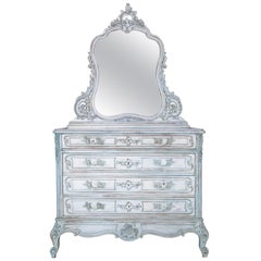19th Century Louis XV Rocaille French Commode