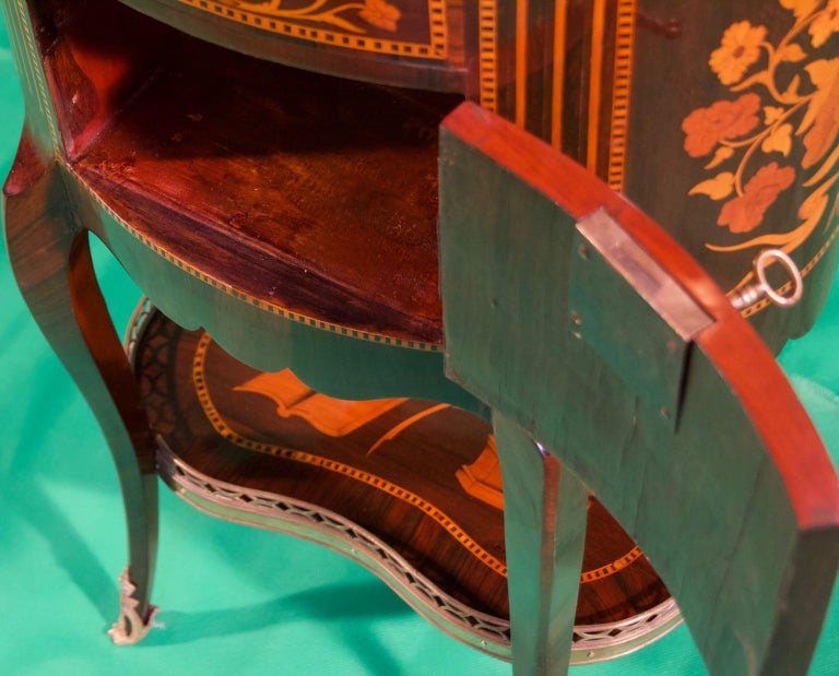 19th Century Louis XV Rosewood Nightstands For Sale 1