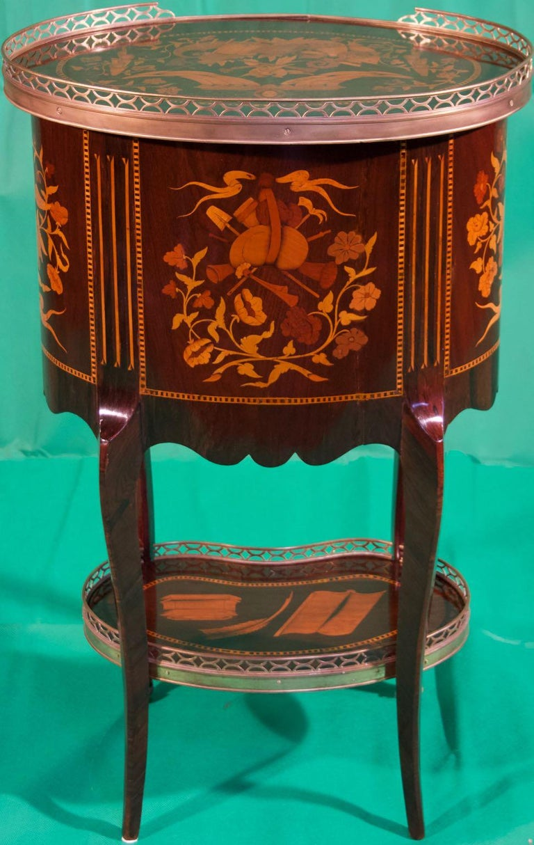19th Century Louis XV Rosewood Nightstands For Sale 3