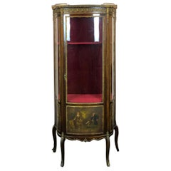 19th Century Louis XV Style French Showcase
