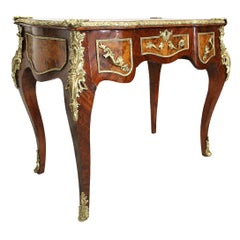 19th Century Louis XV Style Lady's Desk in Rosewood and Burl