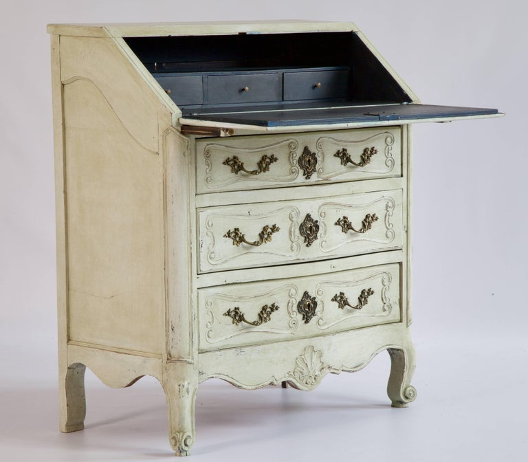 French 19th Century Louis XV Style Scriban For Sale