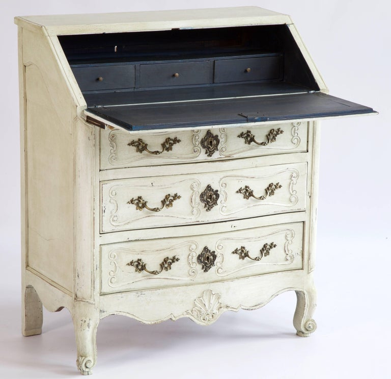 19th Century Louis XV Style Scriban In Good Condition For Sale In London, GB