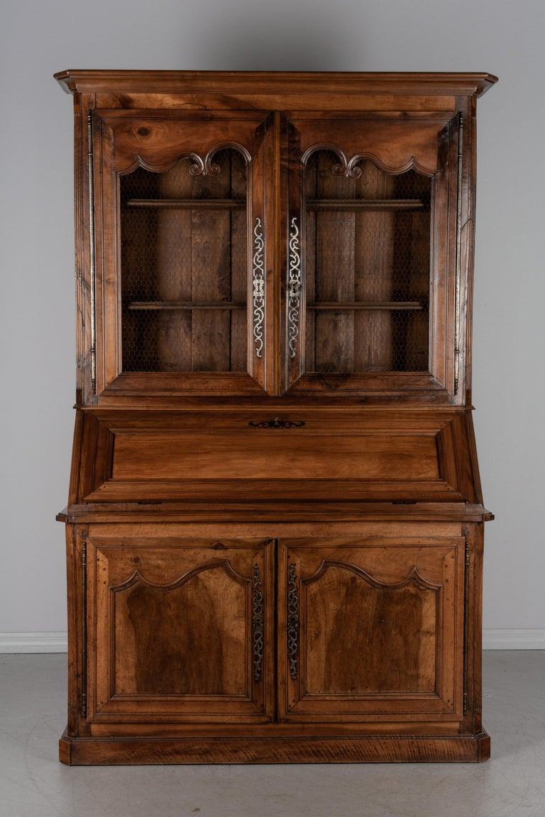 French 19th Century Louis XV Style Secretaire For Sale