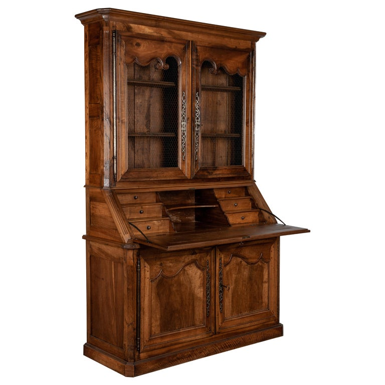 19th Century Louis XV Style Secretaire For Sale