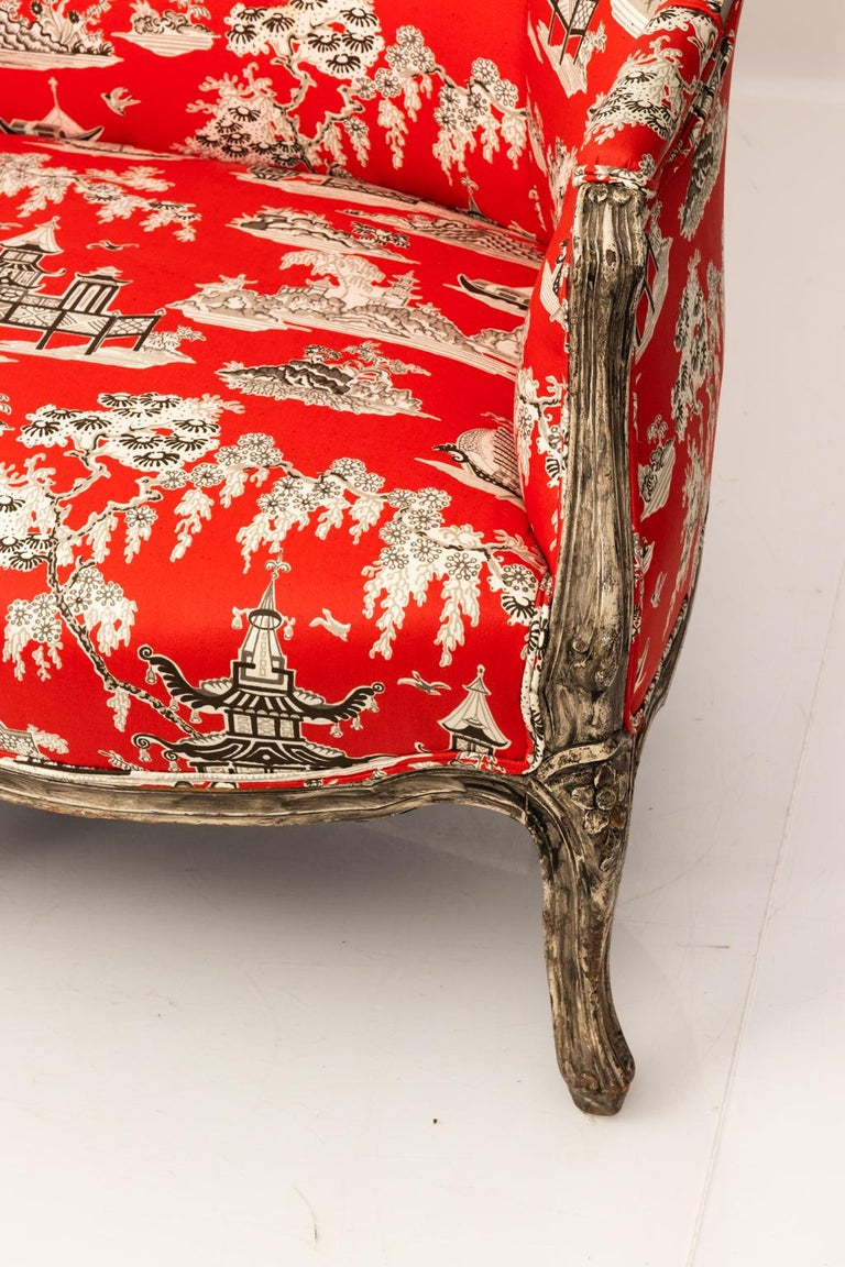 19th Century Louis XV Style Settee For Sale 4