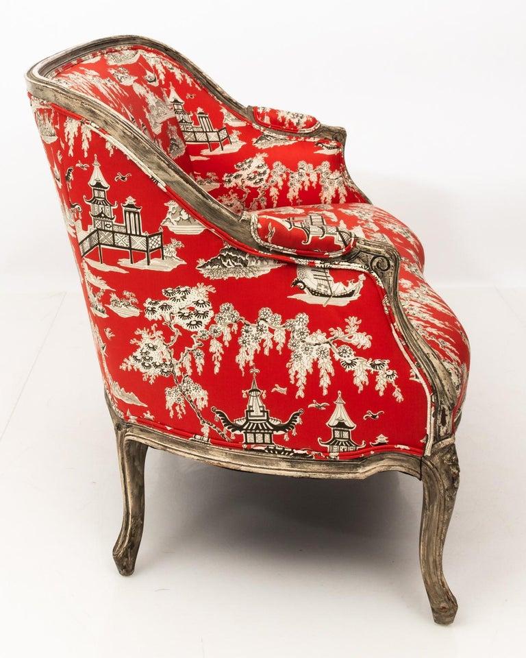 Louis XVI 19th Century Louis XV Style Settee For Sale