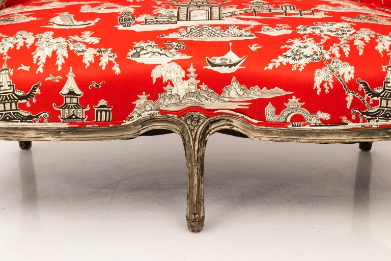 19th Century Louis XV Style Settee For Sale 2