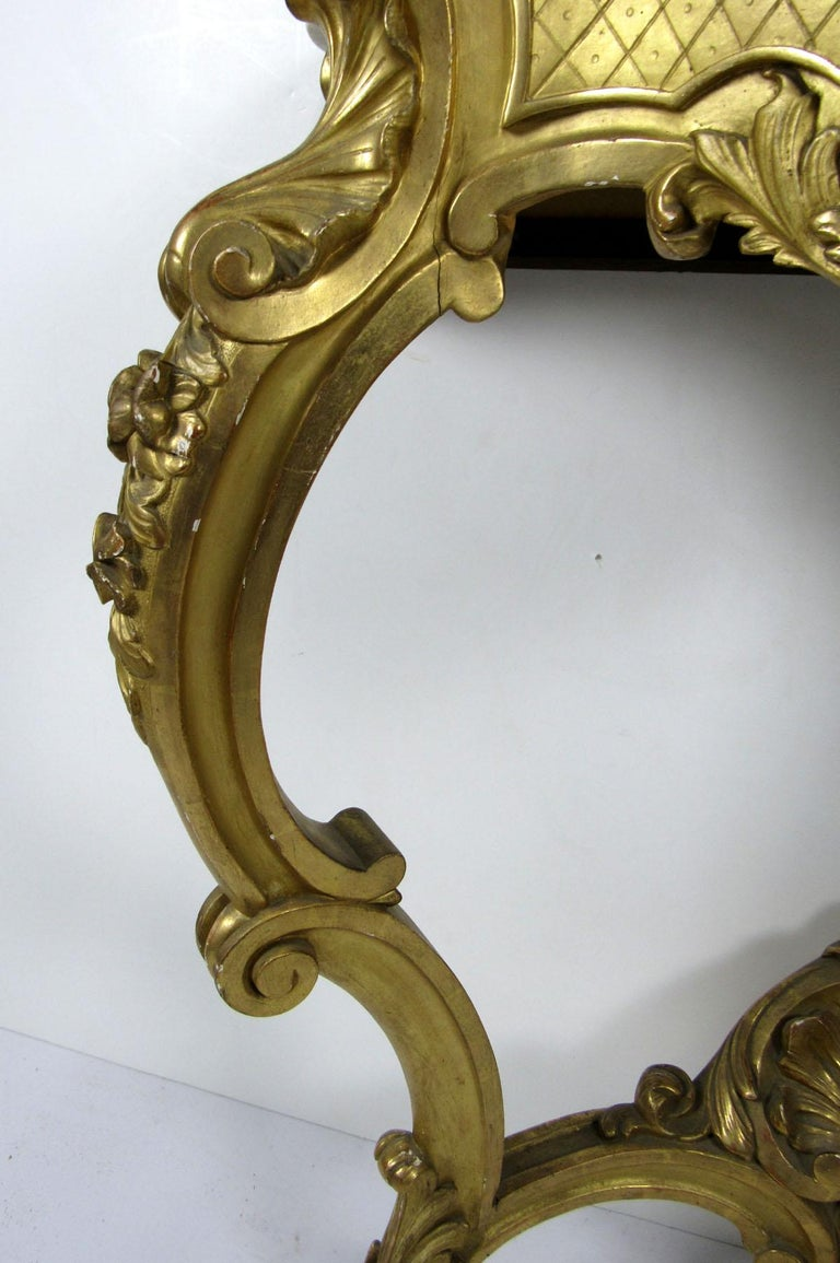 19th Century Louis XV Style Wall Console For Sale 1