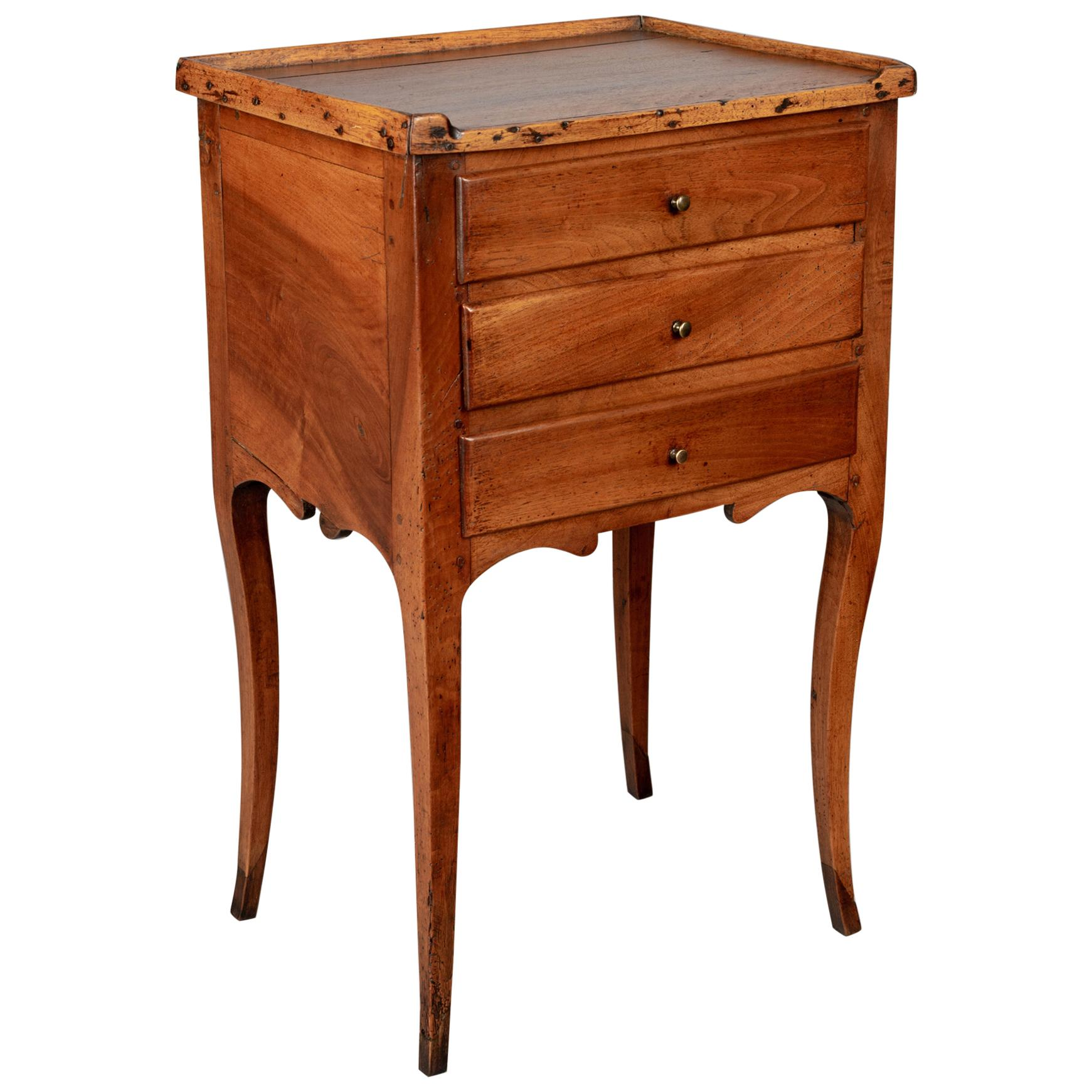 19th Century Louis XV Style Walnut Side Table