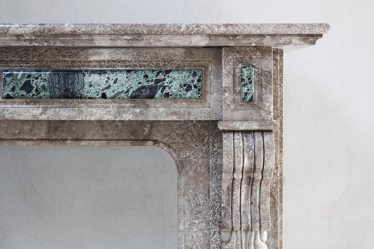 Other 19th Century, Louis XVI Antique Marble Fireplace For Sale