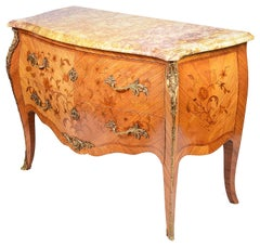 19th Century Louis XVI Style Bombe Commode