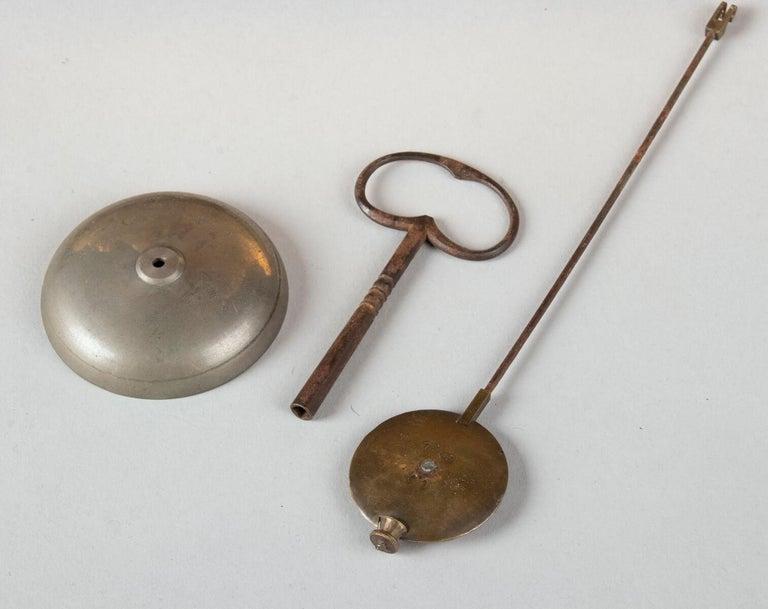19th Century Louis XVI Style Bronze Ormolu Mantel Clock For Sale 12