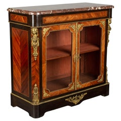 19th Century Louis XVI Style Cabinet or Vitrine