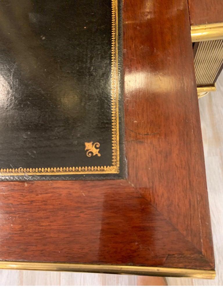 19th Century Louis XVI Style Diminutive Two Part Bookcase on Desk/Secretary For Sale 6