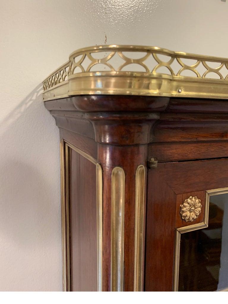 19th Century Louis XVI Style Diminutive Two Part Bookcase on Desk/Secretary For Sale 10