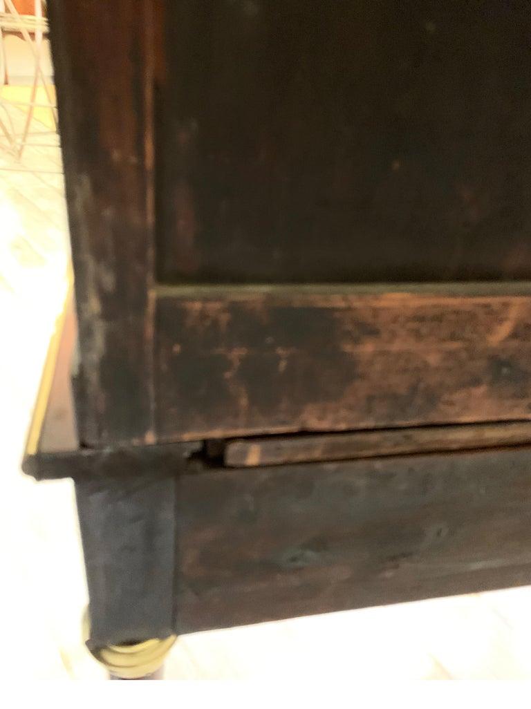 19th Century Louis XVI Style Diminutive Two Part Bookcase on Desk/Secretary For Sale 15