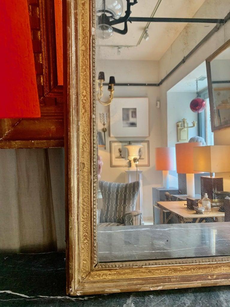 19th Century Louis XVI Style Gitwood Mirror For Sale 6