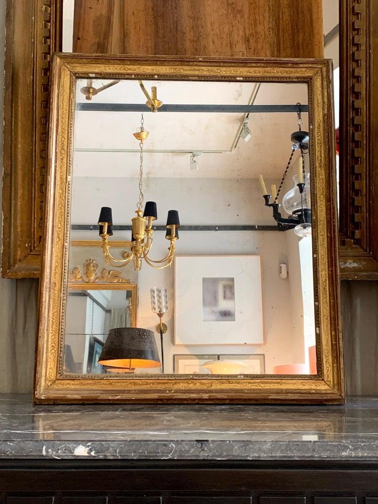 19th Century Louis XVI Style Gitwood Mirror For Sale 7