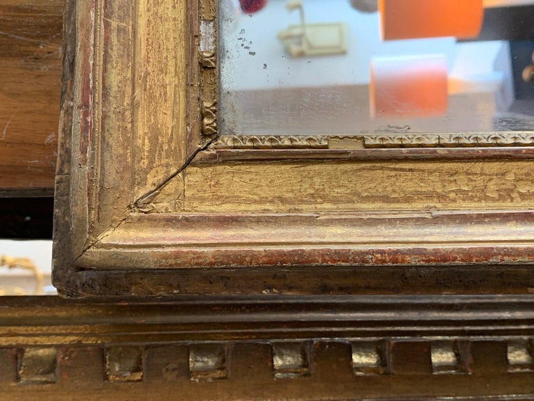 19th Century Louis XVI Style Gitwood Mirror For Sale 8