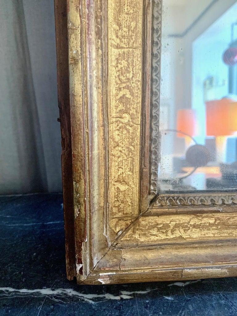 19th Century Louis XVI Style Gitwood Mirror For Sale 9