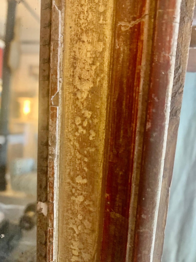 19th Century Louis XVI Style Gitwood Mirror For Sale 11