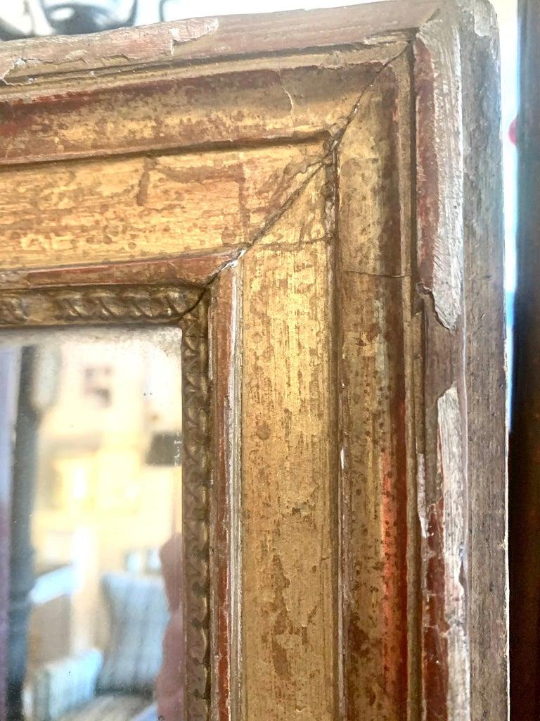 19th Century Louis XVI Style Gitwood Mirror For Sale 12