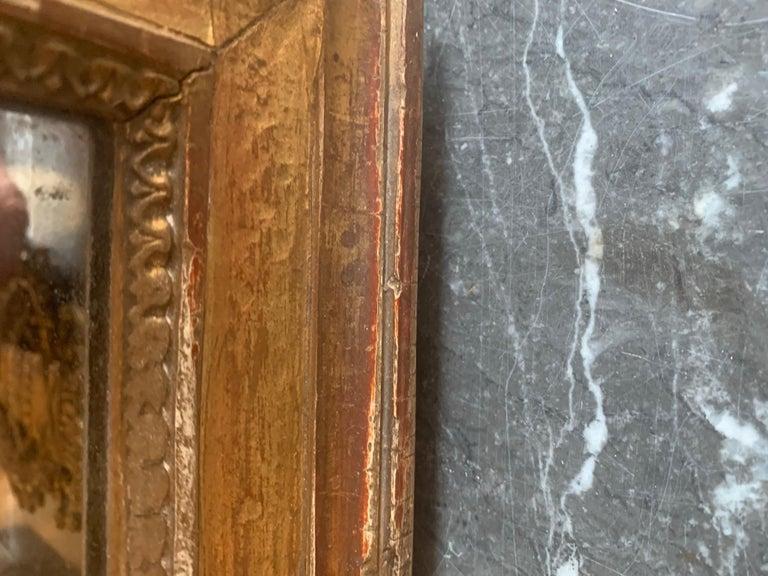 19th Century Louis XVI Style Gitwood Mirror For Sale 13