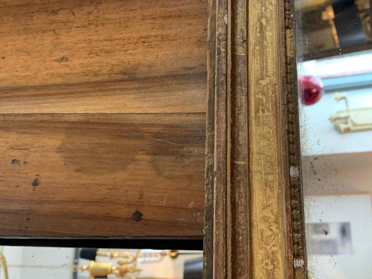 19th Century Louis XVI Style Gitwood Mirror For Sale 2