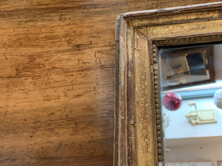 19th Century Louis XVI Style Gitwood Mirror For Sale 3