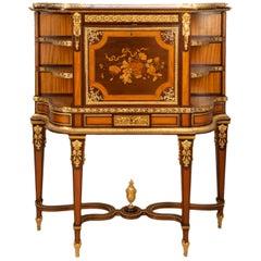 19th Century Louis XVI Style Secretaire Cabinet