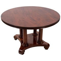 19th Century Mahogany Center Table