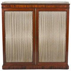 19th Century Mahogany  Chiffonier Cabinet