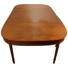 19th Century Mahogany Dining Table with Leaves