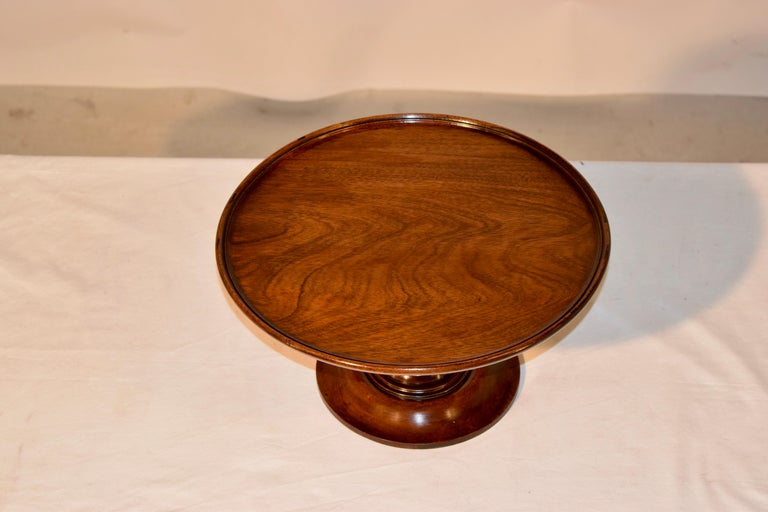 19th Century Mahogany Lazy Susan In Good Condition For Sale In High Point, NC