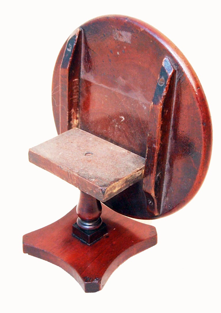 Victorian 19th Century Mahogany Miniature Centre Table For Sale