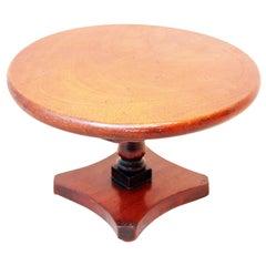 19th Century Mahogany Miniature Centre Table