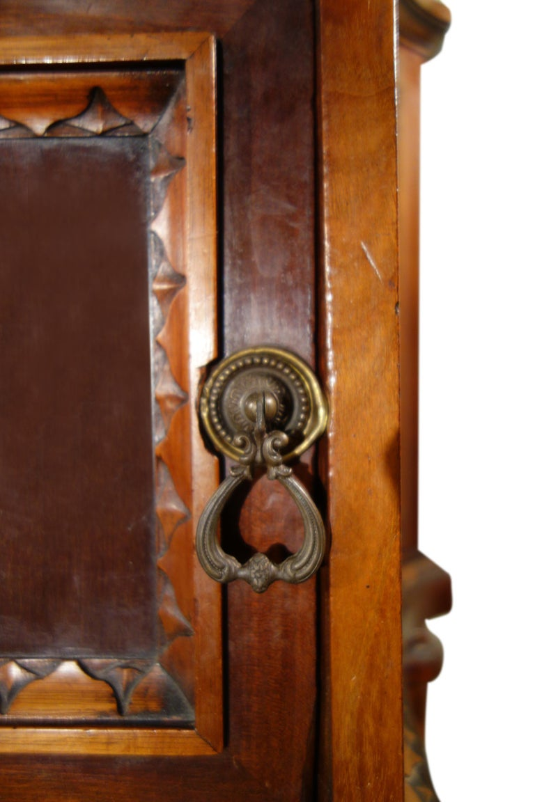 Pair of 19th Century Mahogany Nightstand For Sale 1