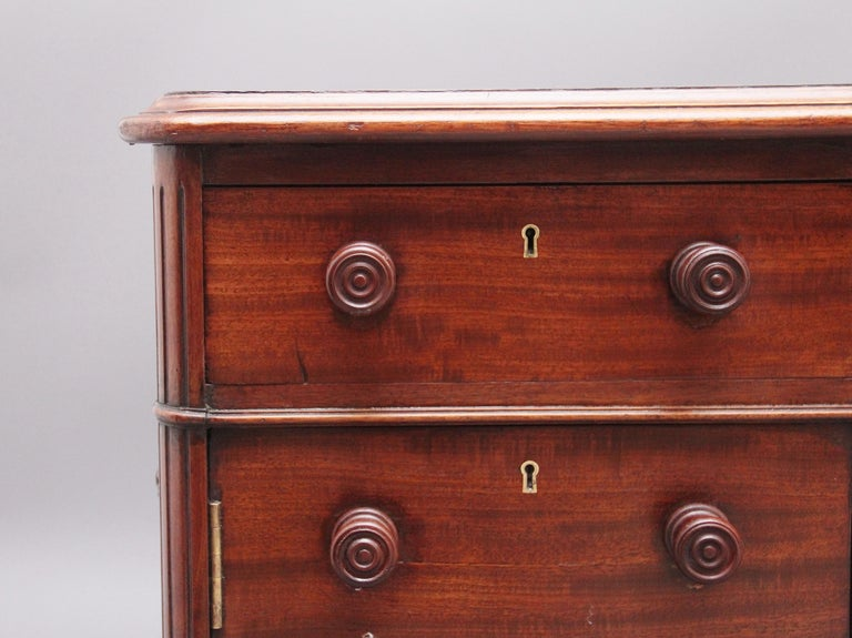 19th Century Mahogany Partners Desk Stamped Gillows For Sale 5