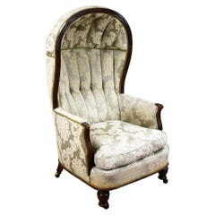 19th Century Mahogany Porters Chair