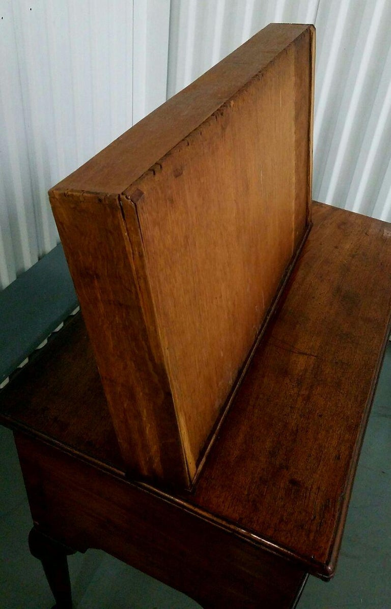 19th Century Mahogany Queen Anne Lowboy For Sale 7