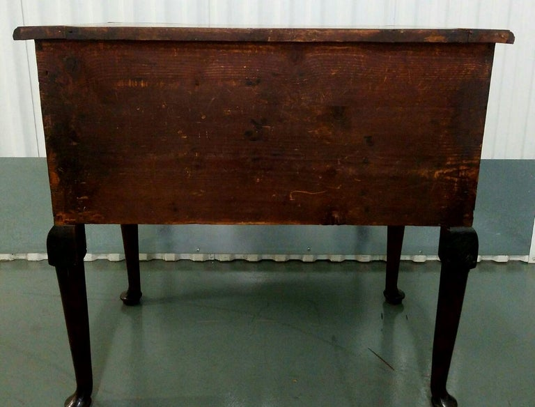 19th Century Mahogany Queen Anne Lowboy For Sale 2