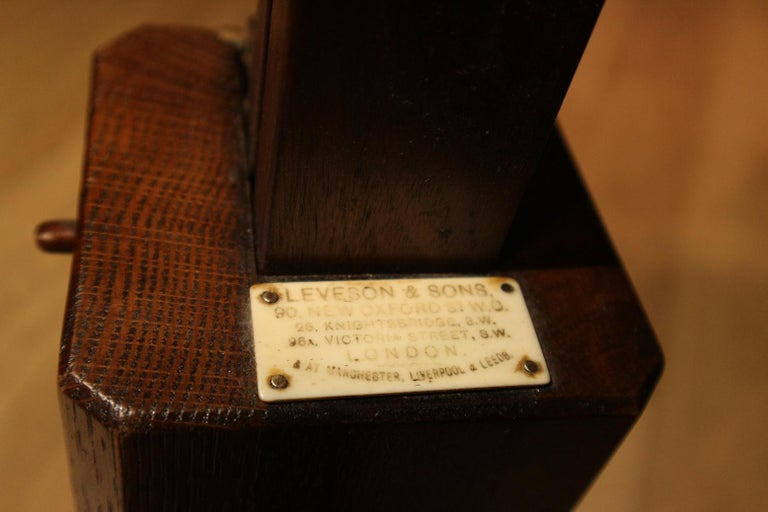 Late 19th Century 19th Century Mahogany Reading Table / Bed Stand