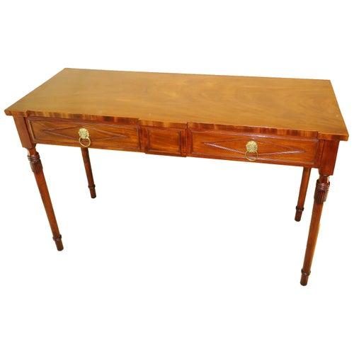 19th Century Mahogany Regency Serving Table