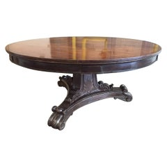 19th Century Mahogany Regency Style Table