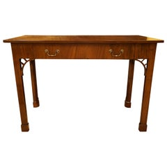 19th Century Mahogany Serving Table