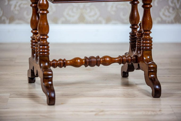19th Century Mahogany Sewing Table For Sale 3