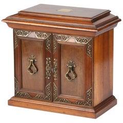 19th Century Mahogany Storage Box